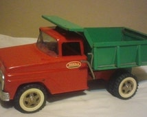 Popular items for camion tonka metal on etsy - Camion benne tonka ...