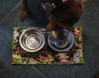 Small Dog Feeding Placemat
