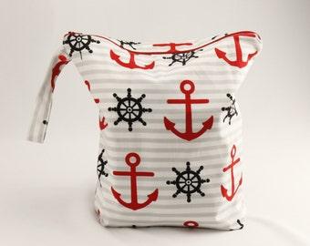 Nautical Wet Bag