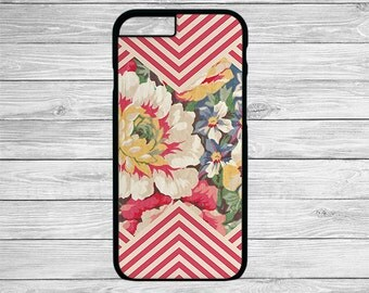 Floral iphone 6 case, Chevron iphone 6 plus case, girly iphone 6 case, iphone 6 cover, iphone 6 plus cover, iphone 6 cases for girls, floral