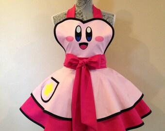 Retro apron - costume apron - womens apron - cosplay costume