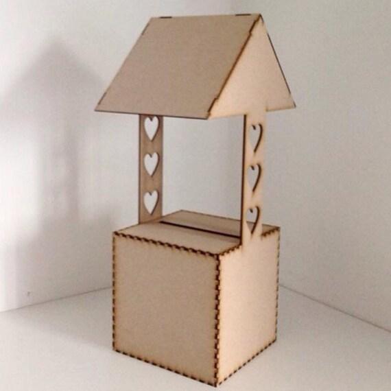 Items Similar To Wishing Well Mail Box Post Box Wedding Post Box Card Holder Wedding Box