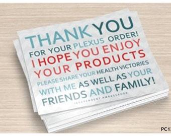 Plexus Thank You Postcards