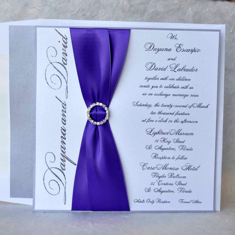 Thermographie invitations de mariage