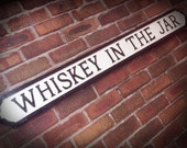 Thin Lizzy Inspired Whiskey In The Jar Faux Cast Iron Street Sign