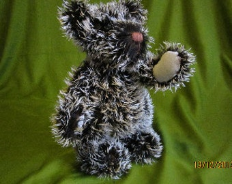 Harry is a Traditional Mohair Teddy