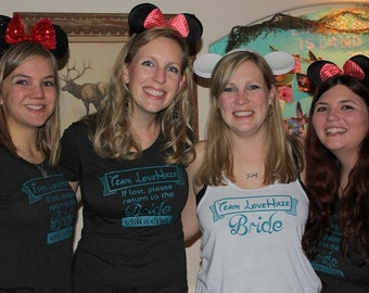 Create Custom Bachelorette Shirts and Bridal Party Ts - Custom Bridal Shirts