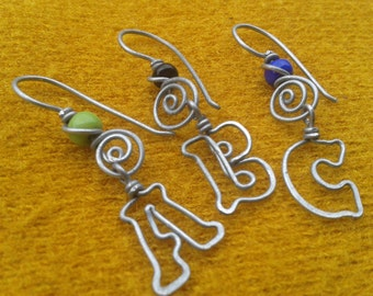 personalized earrings