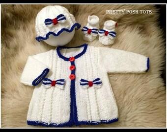 Bow Peep pdf knitting pattern