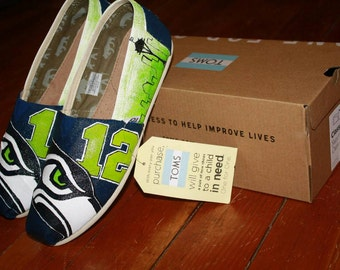 Custom SEAHAWKS Shoes