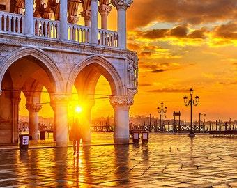 Italy - Sunrise in Venice - SKU 0181