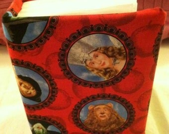 Wizard of Oz fabric covered 4 x 6 photo album