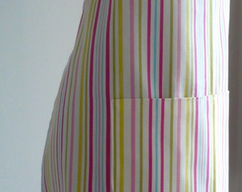 Stripey Ladies' Apron, Women's Apron