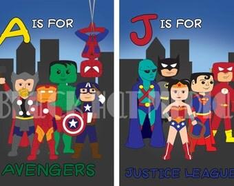 Superhero ABC's