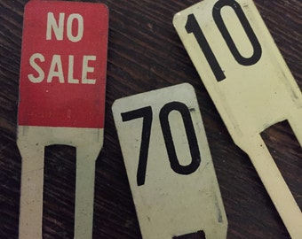 Vintage Toy Cash Register Keys Numbers