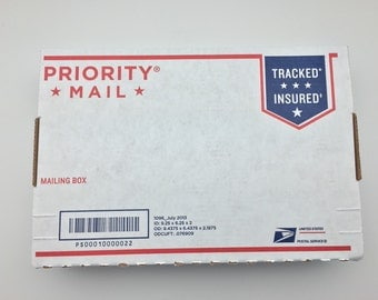 PRIORITY MAIL //Arrive In 1 To 3 Days Of Order Date //