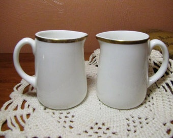 Set of Two (2) Vintage Royal Tuscan Creamers - Made in England