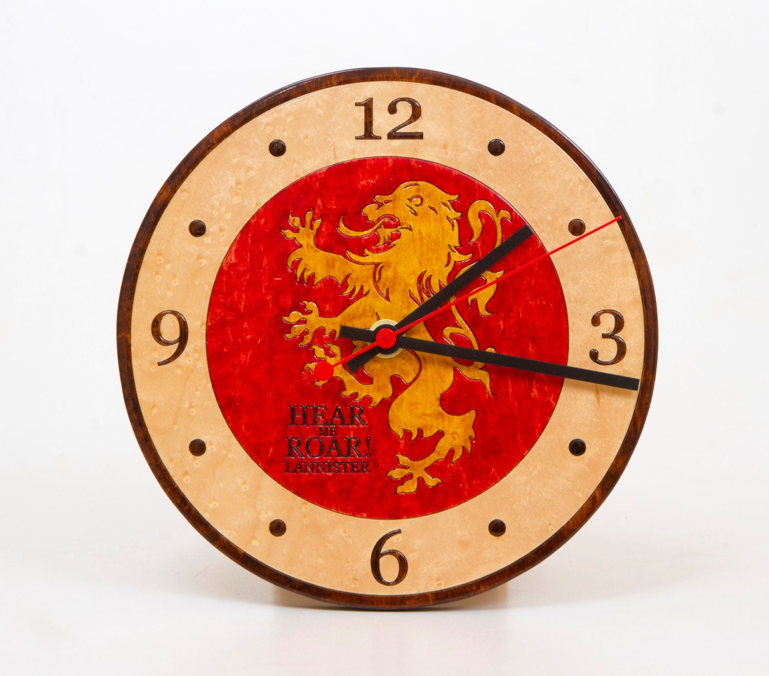 Horloge murale game of thrones for Decoration murale game of thrones