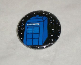Tardis badge