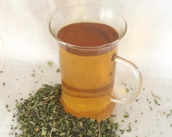 Hair Support Tea (Organic) - with Horsetail, Oat Straw, & Nettle Leaf