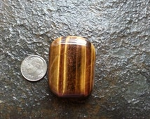 Golden Tigers Eye Pillow - Worry Stone