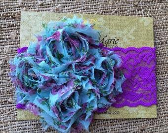 Neon Purple Headband