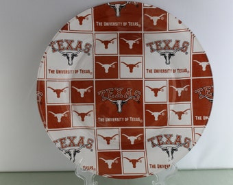 Texas Longhorns Decorative Plate