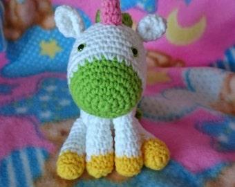 Unicorn crochet amigurumi