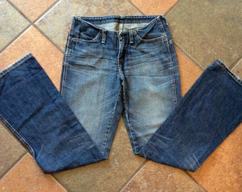 Vintage Levi red tag low waisted bootcut jeans