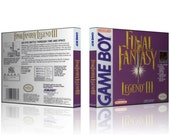 GB - Final Fantasy Legend III  - Collector's Game Case featured image