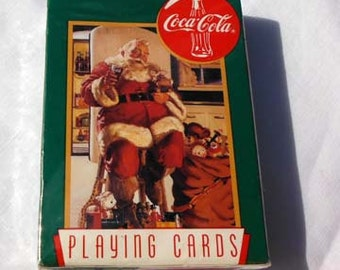 CocaCola Playing Cards 1995