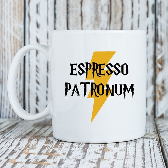 Espresso Patronum - Magic Spell / Funny - Mug Universe Coffee Mug -11 Oz or 15 Oz available-Great Christmas Birthday Holiday Gift (MU139)