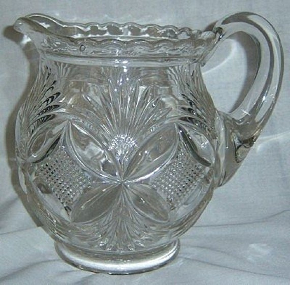Westmoreland Glass / EAPG / Pattern Glass / Water Pitcher