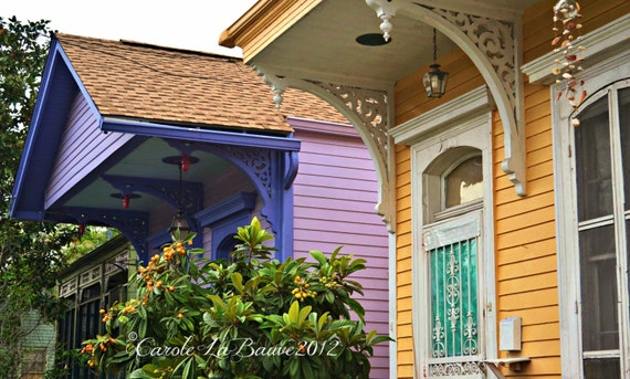 NEW ORLEANS ROOFLINES ~ New Orleans, Louisiana ~ Fine Art Photography ~ Roof Lines ~ Architecture