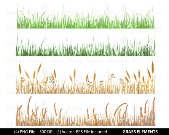 Grass, Grass Clip Art, Dry Grass Clip Art, Fields of grass Clip Art, Digital Scrapbooking, grass Art, Digital Download Clipart