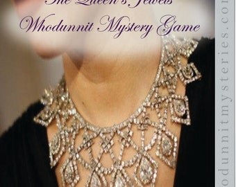 Queen's Jewels -- Jewel Thief Costume Party Mystery Game