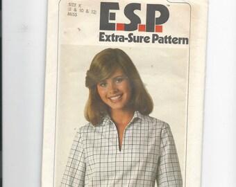 Simplicity 8183 E.S.P (Extra-Sure-Pattern) Misses Shirt Size 8-12