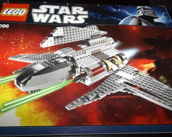 Lego Star Wars assembly booklet 8096