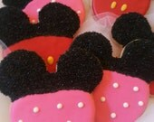 Mouse Inspired Sugar Cookies
