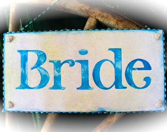 Bride, Groom chairs signs ,Here comes the Bride, 3 signs for wedding party