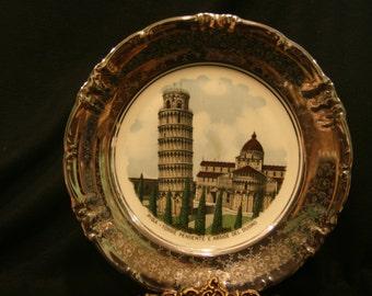 Large Paris France Souvenir Plate
