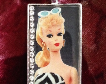 Vintage Barbie Necklace Bling!