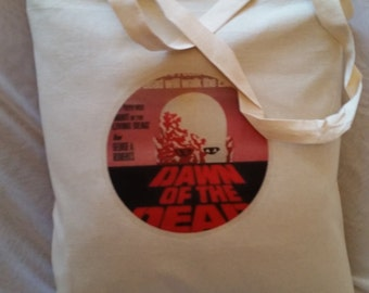 Tote bag  Dawn of the dead' zombie kitsch tote bag
