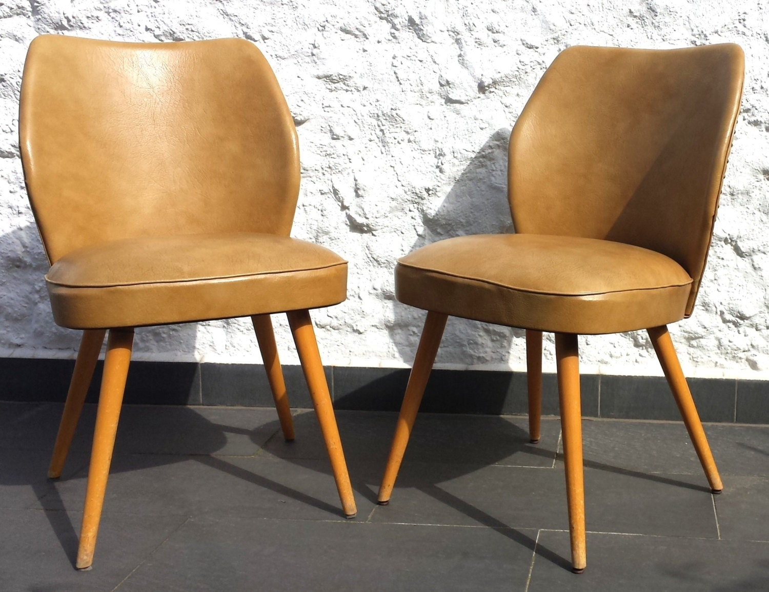 60s thonet cocktail sessel in leder for Bequem sessel leder