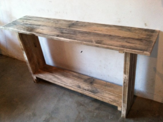 Foyer Table Etsy : Primitive entryway table rustic by rusticknacks