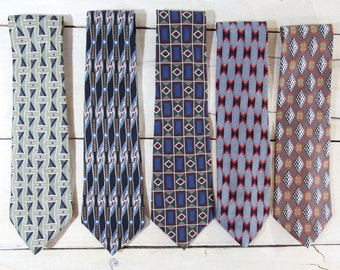 Mens ties - vintage ties - mens neckties - dapper gent