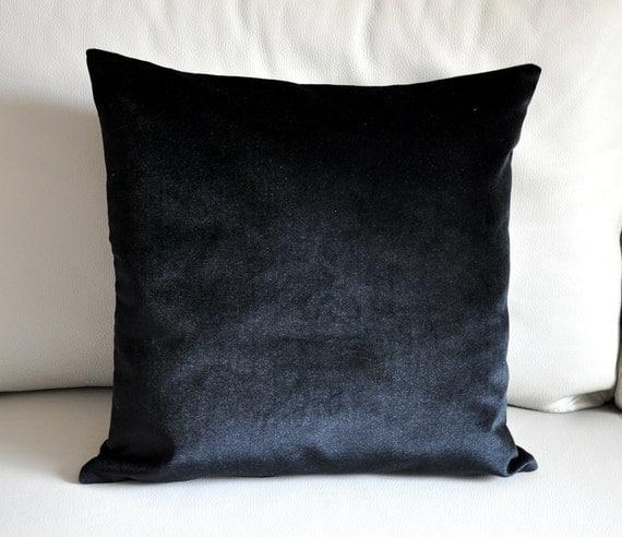 Luxury Velvet Cushion Cover, % Cotton Velvet, Modern Super Soft Covers, Pillow Cases, 18