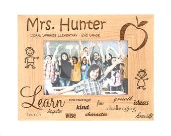 Personalized Teacher Photo