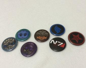 Mass effect buttons
