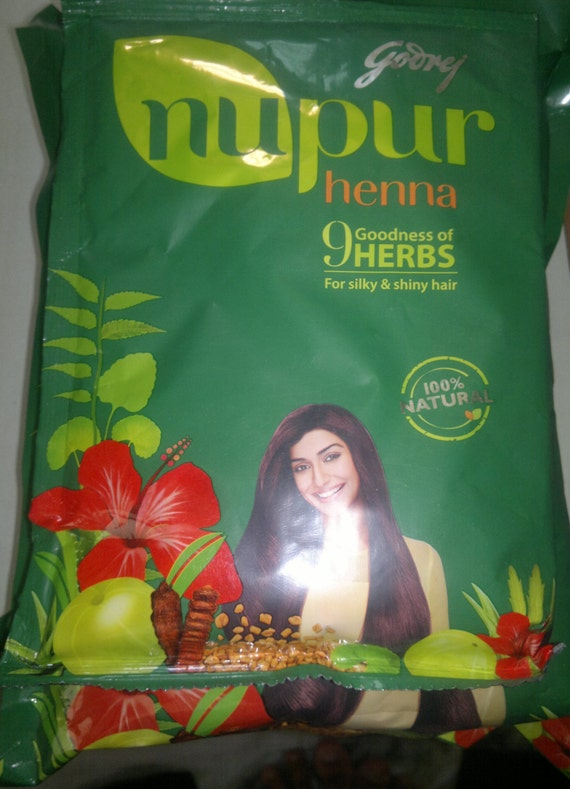Nupur Henna: 500 Gms Nupur Henna Pack For Hair Care Hair Color Rajasthani